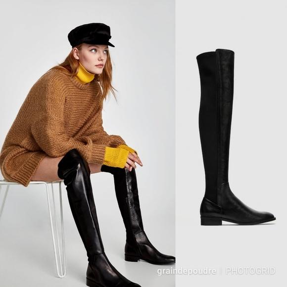 Leather Otk Stretch 550 Boots